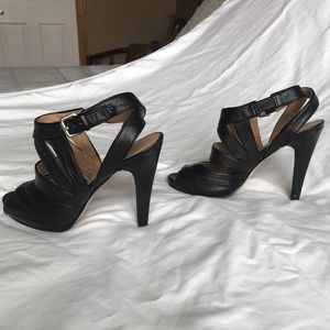 Nine West Leather Strapped Sandals